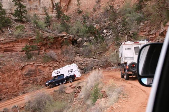 White Rim Trail - Shafer Switchbacks - Truck Camper Adventure