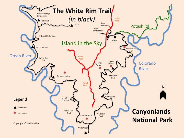 Canyonlands White Rim Trail Truck Camper Adventure