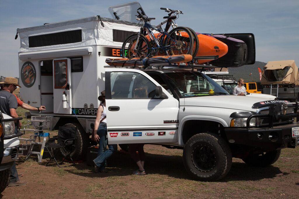 overland expo - truck camper adventure