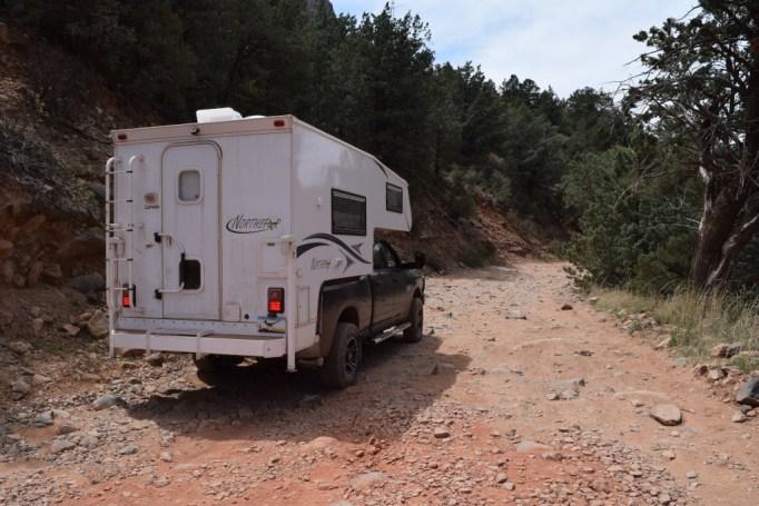 Schnebly Hill 4x4 Road - Truck Camper Adventure