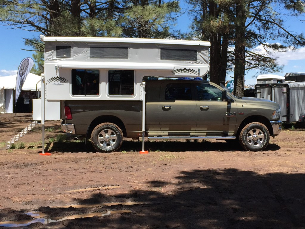 Overland Expo - Hallmark Truck Camper - Truck Camper Adventure