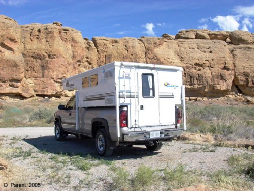 Chaco Canyon - Truck Camper Adventure