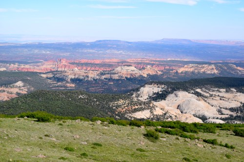 View of the Waterpocket Fold from Boulder Mountain - Truck Camper Adventure
