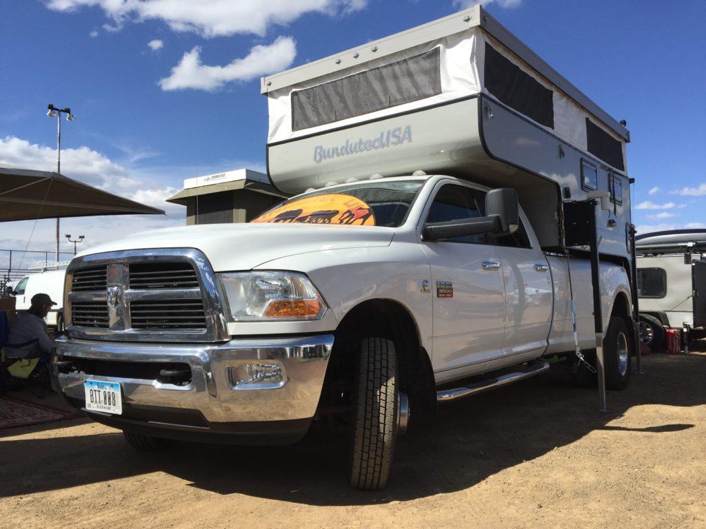 Overland Expo - BundutecUSA Pop Up - Truck Camper Adventure
