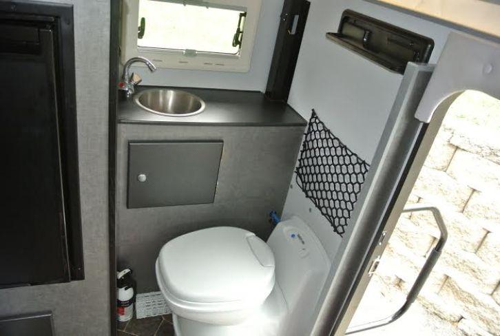 BundutecUSA BunduCamp Bathroom - Truck Camper Adventure