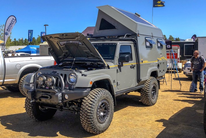 top 4x4 extreme campers of the 2018 overland expo truck camper adventure. Black Bedroom Furniture Sets. Home Design Ideas