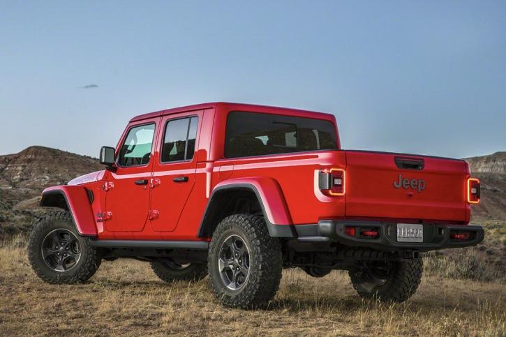 New Jeep Gladiator Pickup Truck Revealed At La Auto Show Truck