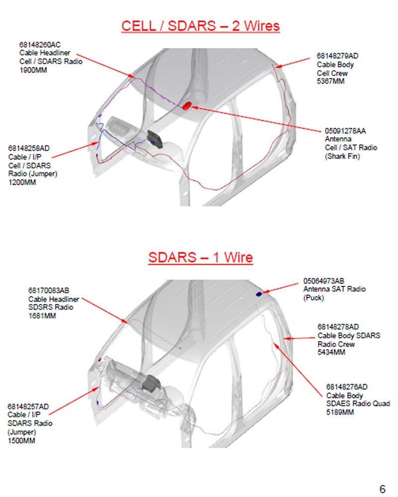 medium resolution of shark fin relocation ram truck