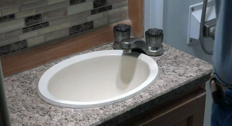 rv sink and faucet upgrades truck