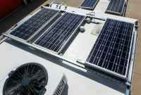 Solar Panel Roof Rack Installation