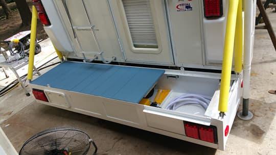 custom truck camper porches and decks