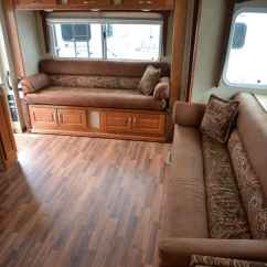 Used Sofa Loft Leather Left Arm Sectional Chalet Rv's Double Camper - Truck Magazine