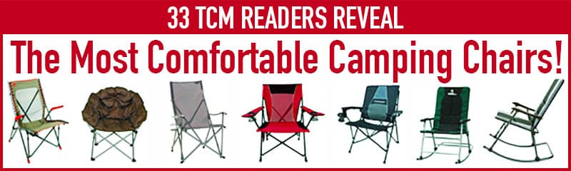 most comfortable camping chair lime green chairs for sale the reviewed by campers best
