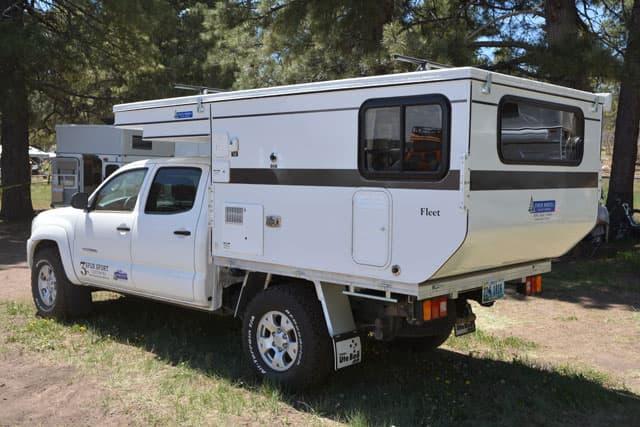 side truck camper wiring diagram