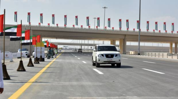 New highway connects Abu Dhabi to Dubai