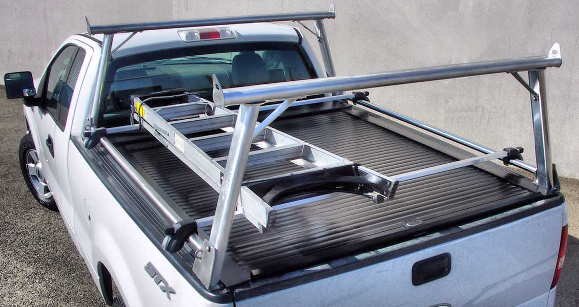 Stake Pocket Ladder Rack