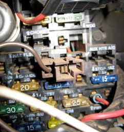 82 gmc k1500 electrical issue truck forumshere u0027s the fuse block name img 1563 jpg views [ 768 x 1024 Pixel ]