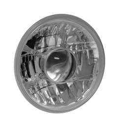 anzo 7 round chrome projector headlight [ 1000 x 1000 Pixel ]