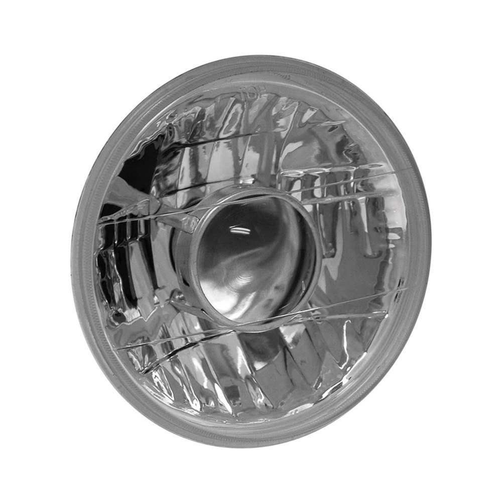 medium resolution of anzo 7 round chrome projector headlight
