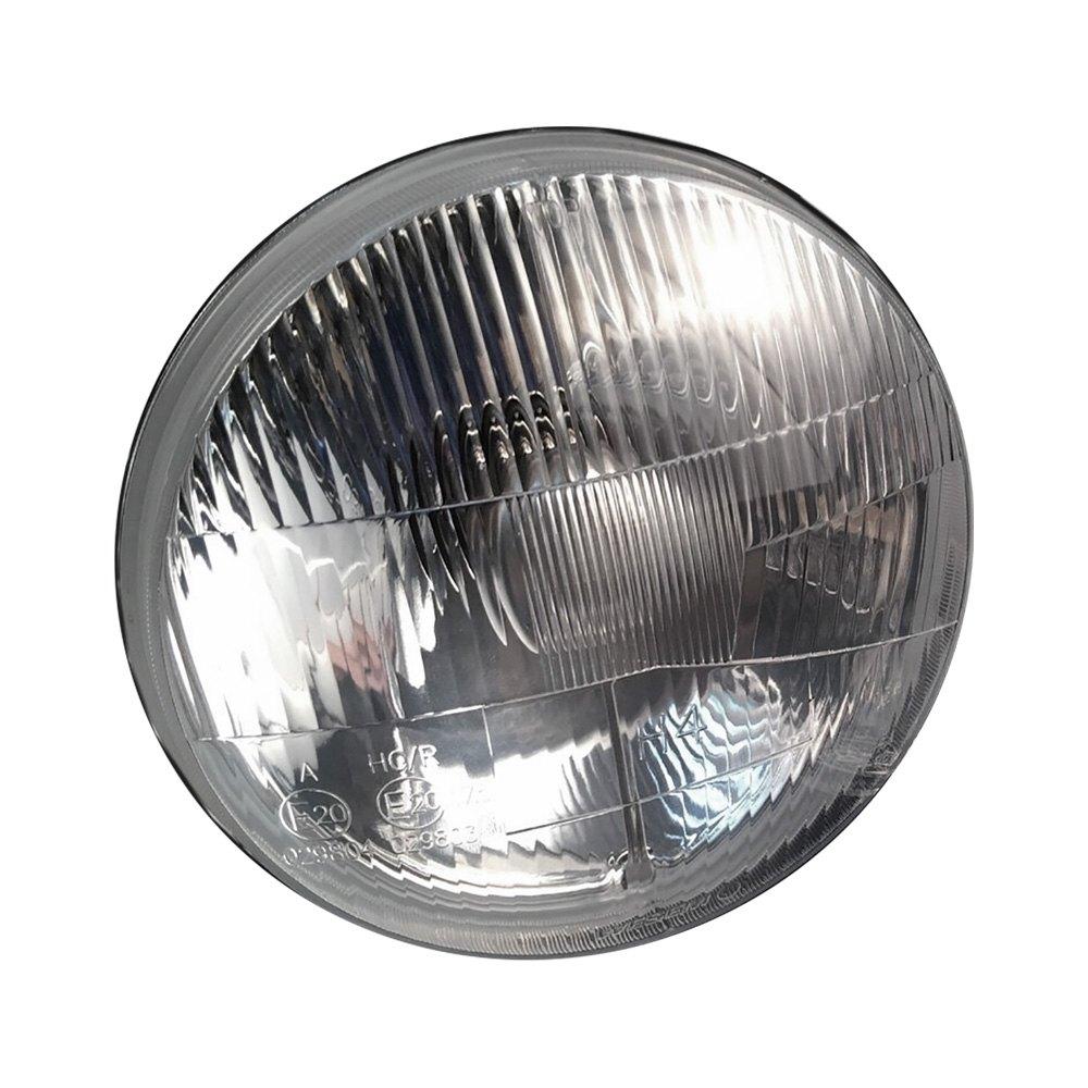 medium resolution of delta lights 7 round chrome factory style composite headlights