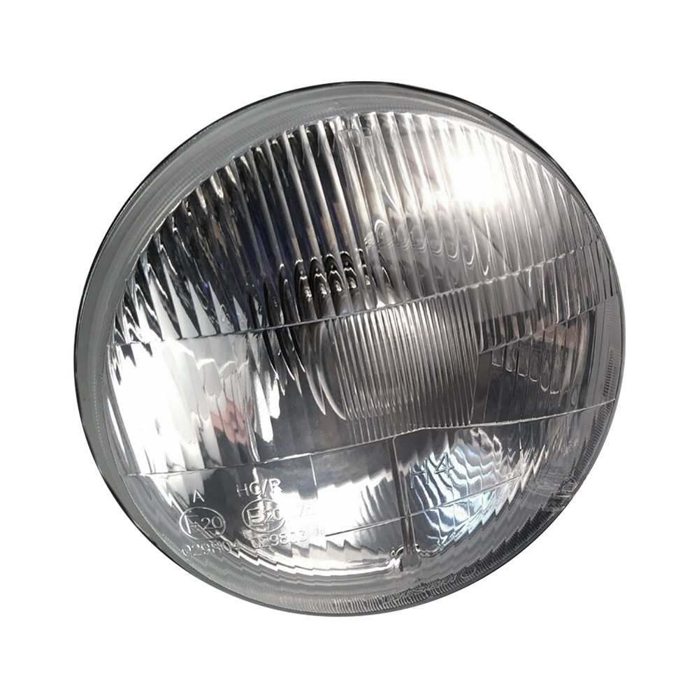 hight resolution of delta lights 7 round chrome factory style composite headlights