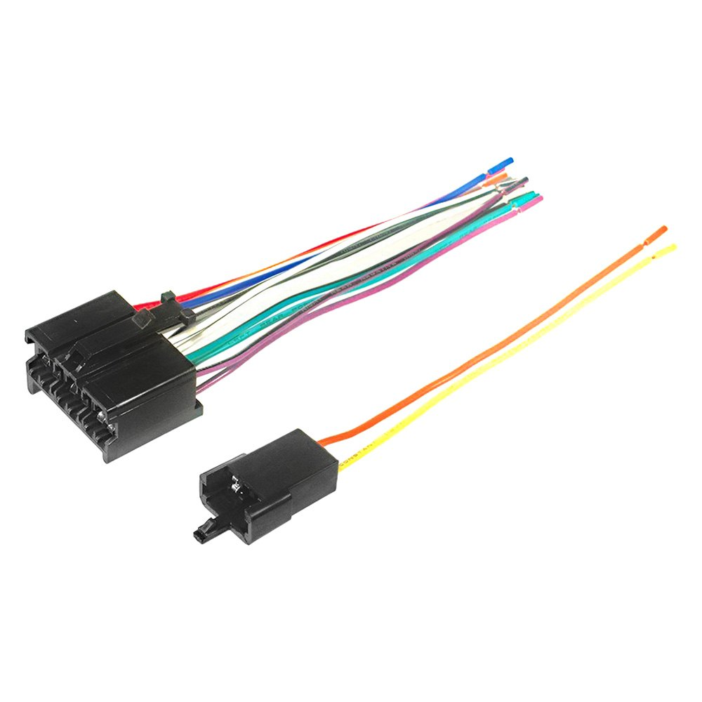 hight resolution of  factory replacement wiring harness with oem radio plug