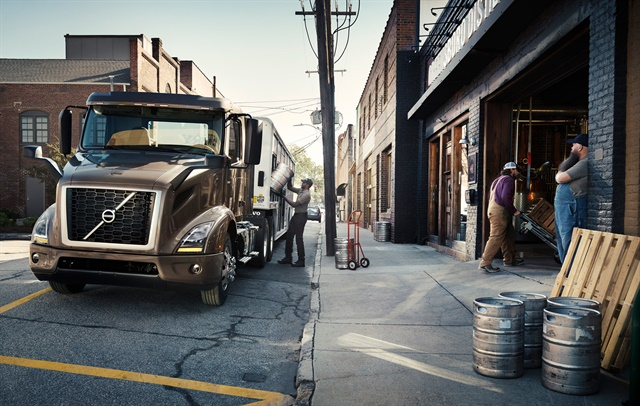 Volvo's Magnus Koeck says a new industry emphasis on regional haul routes was a prime design driver for the OEM's new VNR tractor. Photo: Volvo