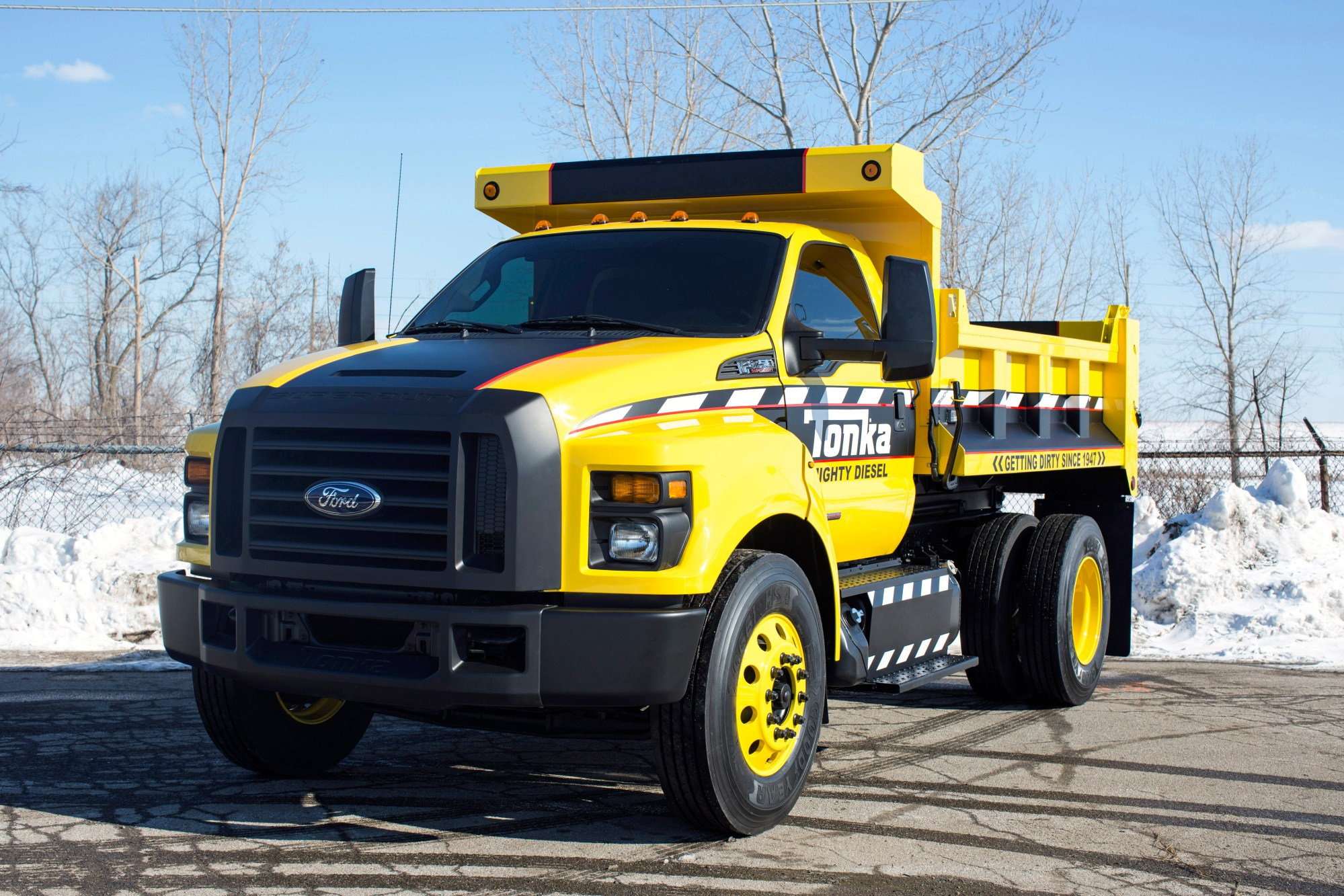 hight resolution of mighty ford f 750 tonka