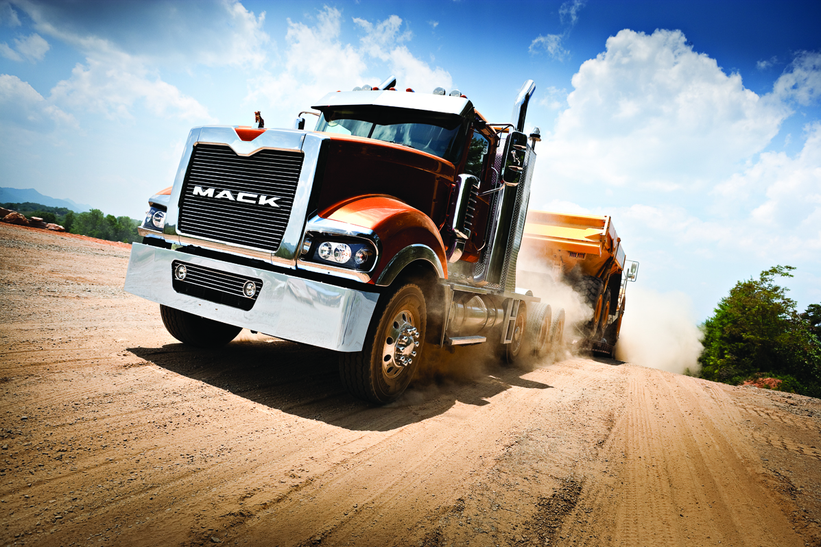 Driving The Mack Granite With Mdrive Hd