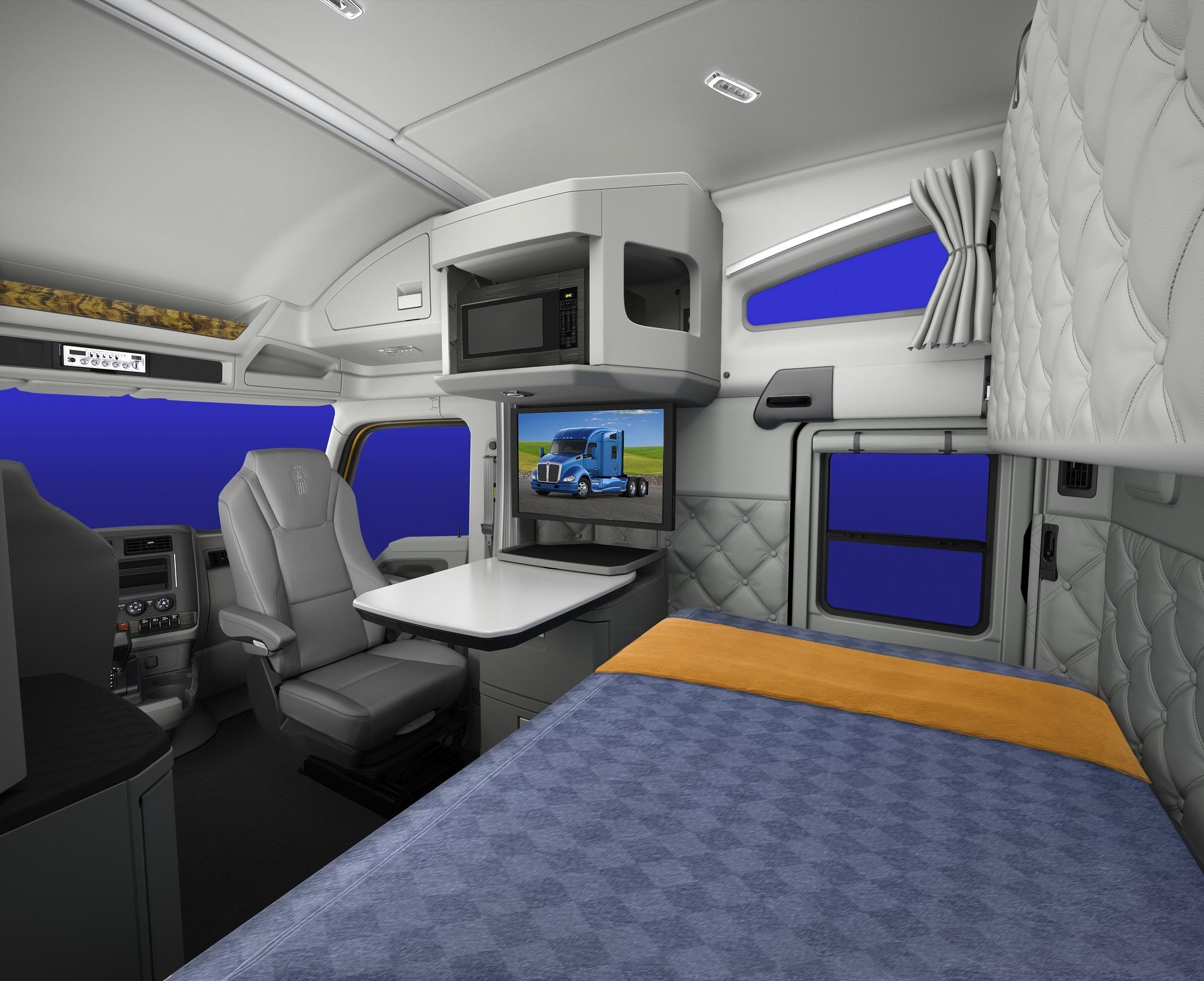 W900 Interior Sleeper Kenworth Studio