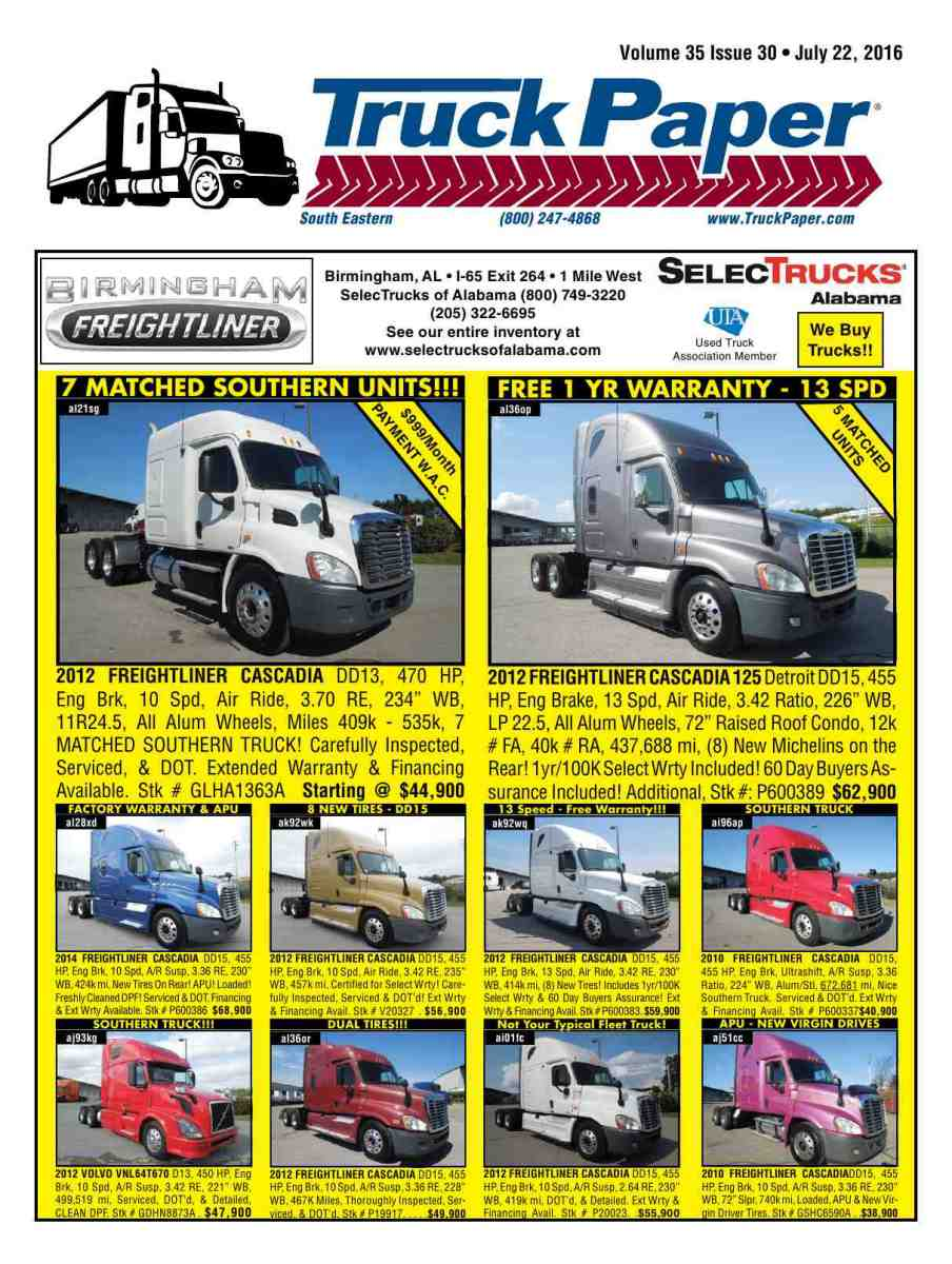 medium resolution of reproduction of material appearing in truck paper is strictly prohibited without express prior written consent truck paper is a registered trademark of
