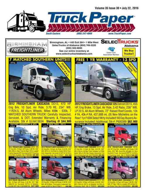 small resolution of reproduction of material appearing in truck paper is strictly prohibited without express prior written consent truck paper is a registered trademark of