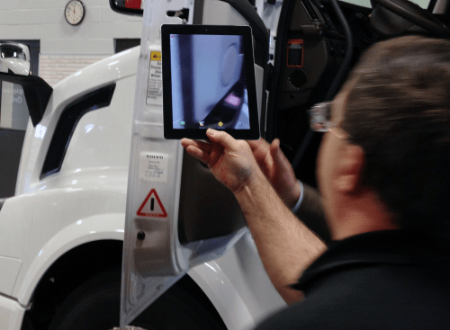 small resolution of volvo trucks announced thursday an initiative to place qr codes on all new vehicles effective april