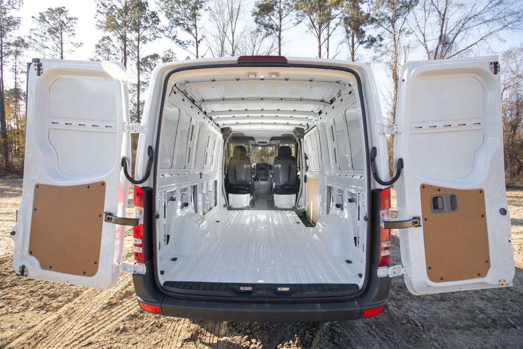 Mercedes Benz Sprinter Van Full Dimensions And Specifications