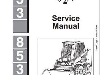 Bobcat T550 Compact Track Loader Service Repair Workshop
