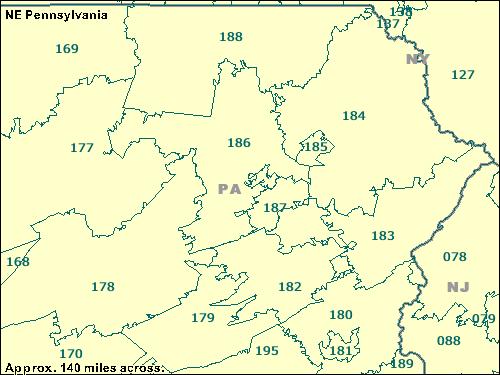 Trucksesscom ZCTA maps 100199