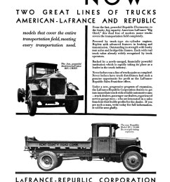 the range included 12 models from small republic fleetmaster to large american lafrance big chief  [ 1083 x 1429 Pixel ]