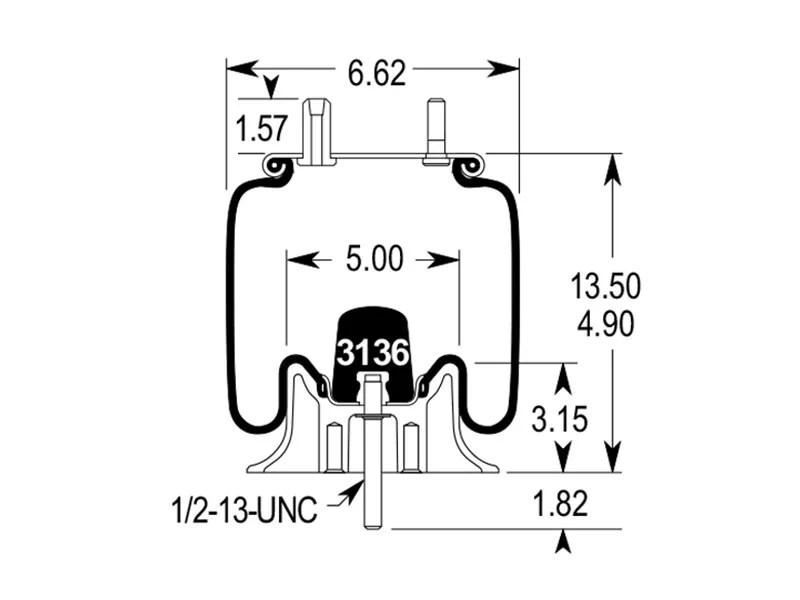 trailer air bag suspension diagram gift of magi plot w01-358-2120 | firestone airide spring 1t14c-1