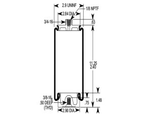 W217607076 | Firestone Air Spring | Reversible Sleeve