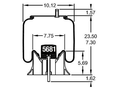W01-358-8856, Firestone Reversible Sleeve Air Spring