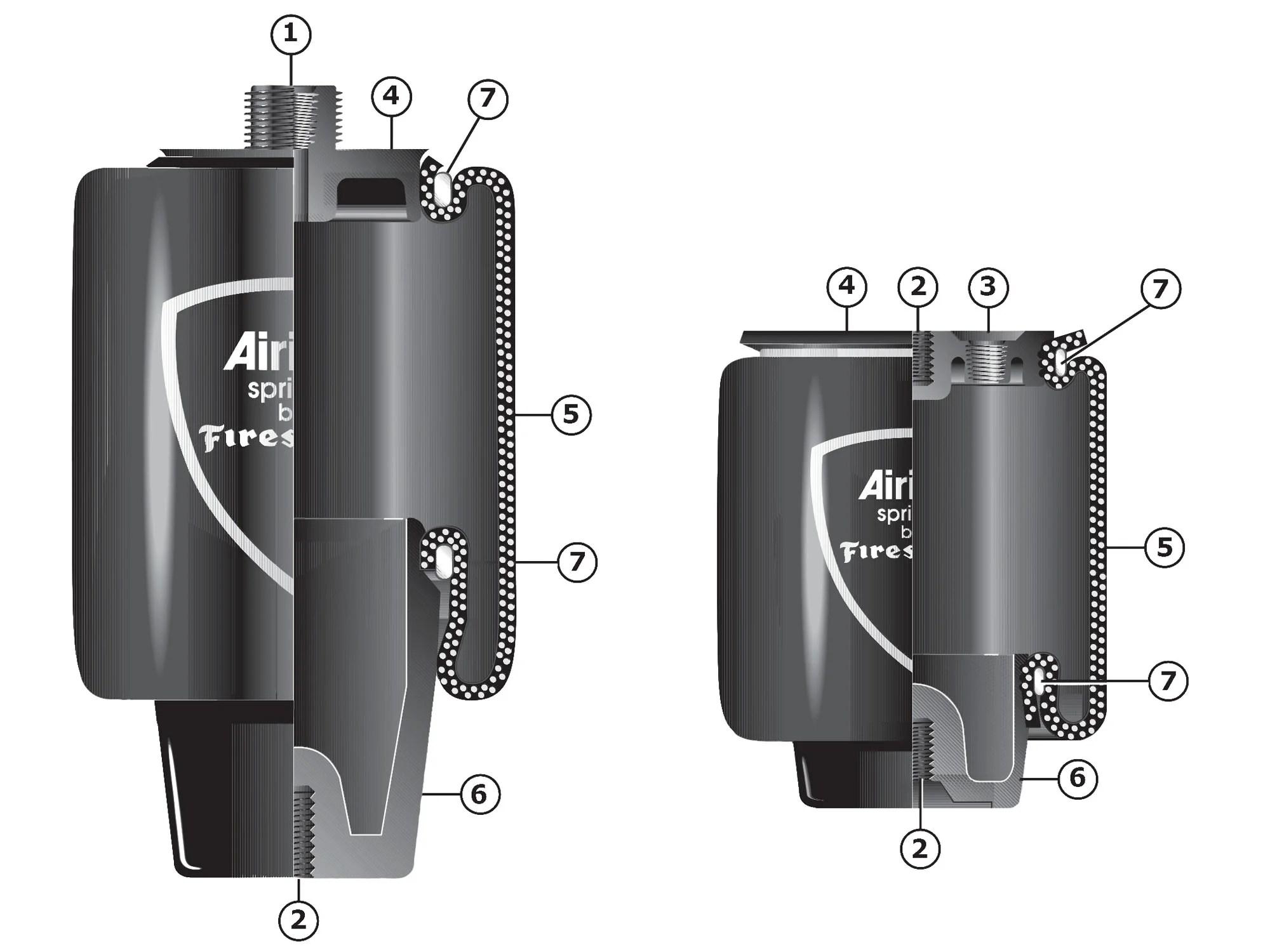 hight resolution of firestone air springs