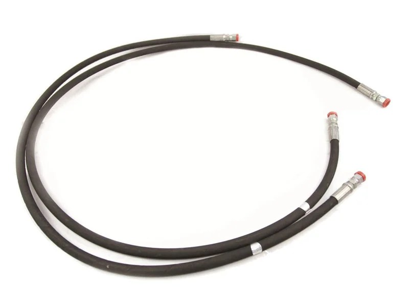 88-50078, Mile Marked 78 inch Winch Hydraulic Hose Assembly