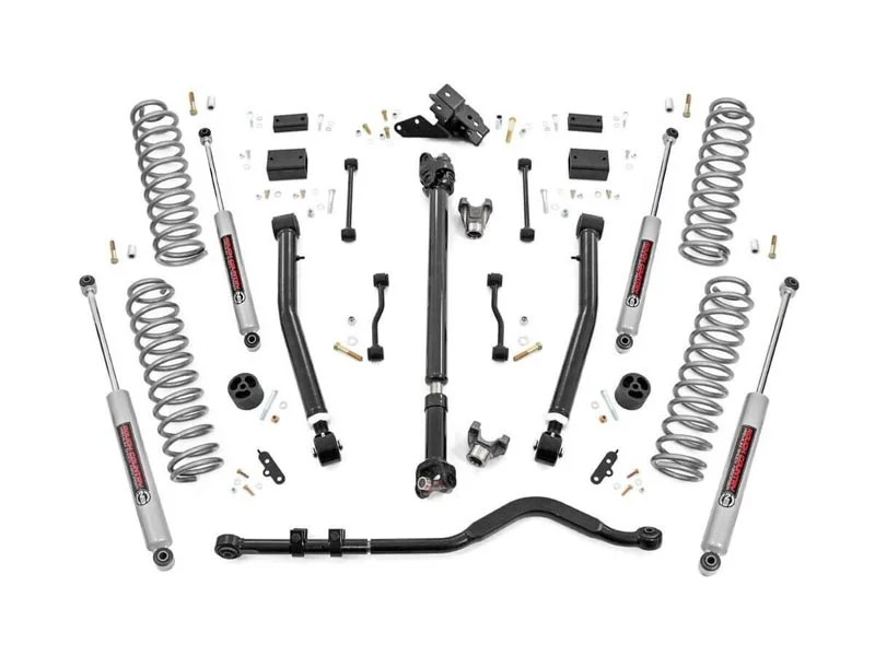 65531, Rough Country 3.5 inch Lift Kit for the Jeep Wrangler
