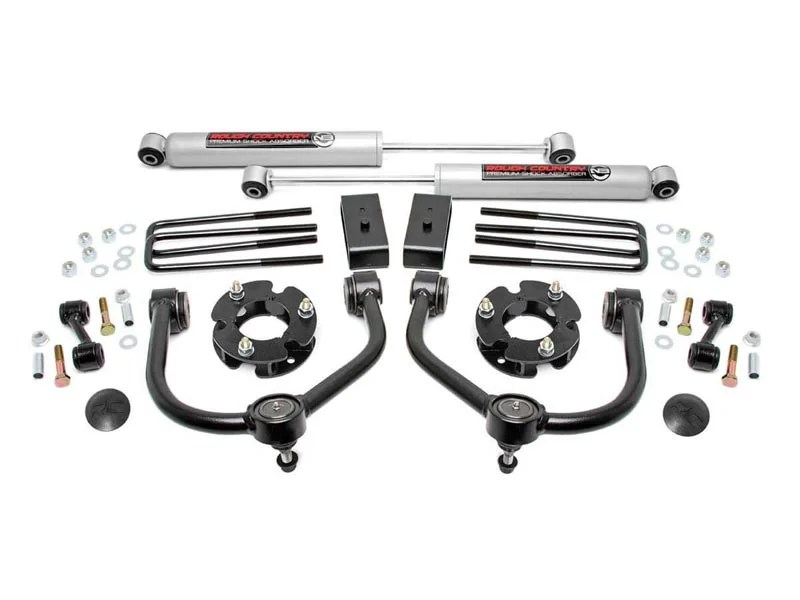 83430, Rough Country 3 inch Suspension Lift Kit for the