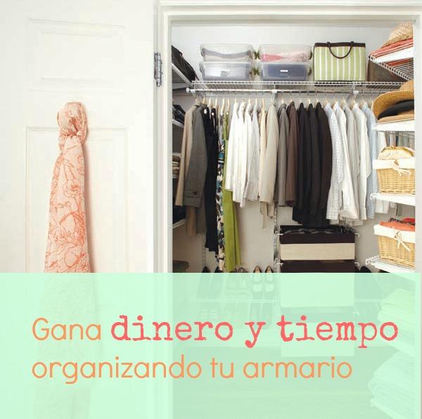 Ahorra organizando tu armario