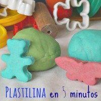 Cómo hacer plastilina casera [en cinco minutos y sin cocción]
