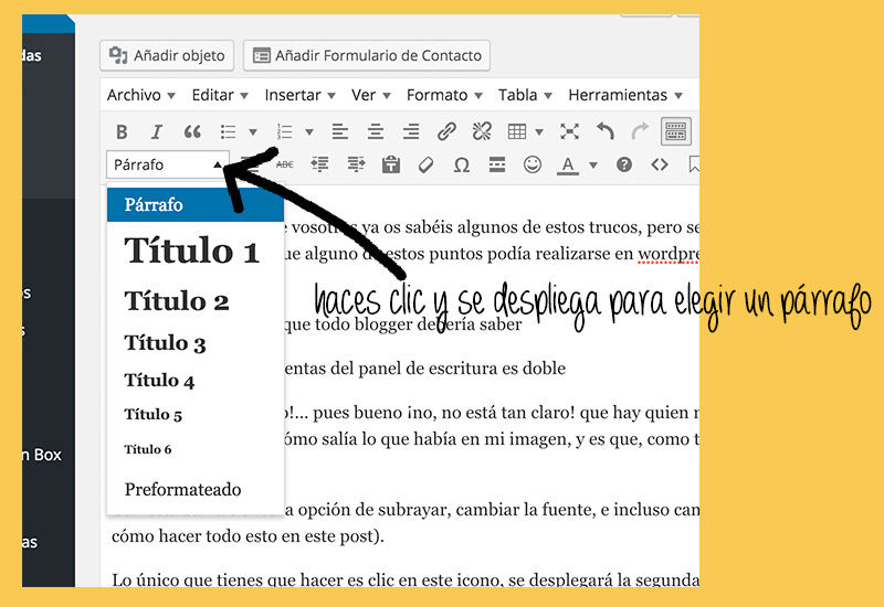 Trucos de WordPress