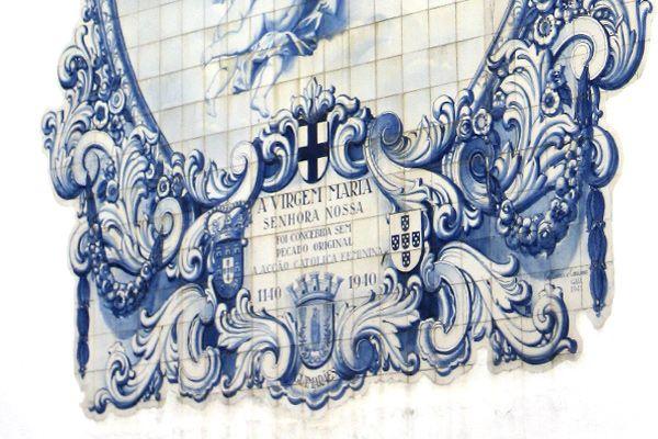 Blue tiles guimaraes