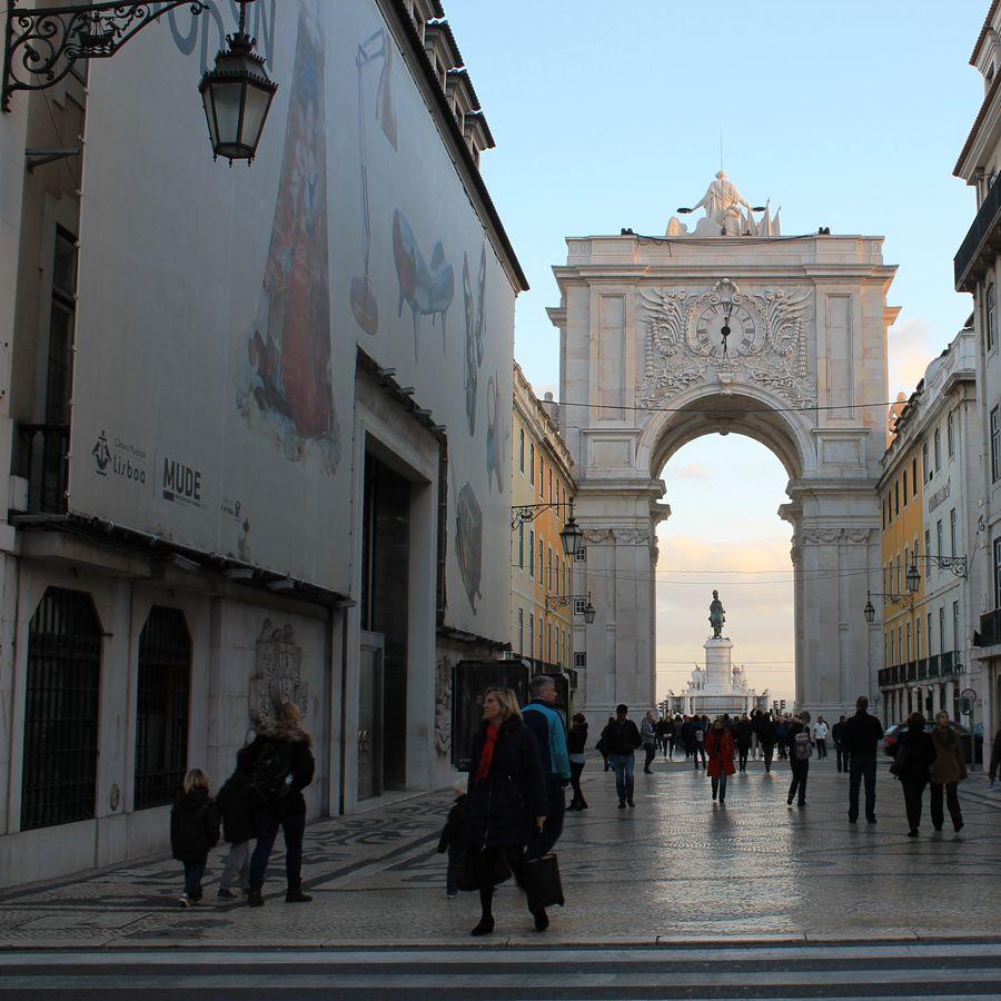 Rua Augusta MUDE fashion and design museum Lisboa