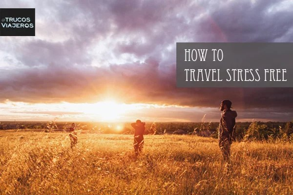 how to fight travel stress